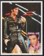 Burkina Faso - 1995 - Bloc Feuillet N°Yv. 53 - Elvis Presley - Neuf Luxe ** / MNH / Postfrisch