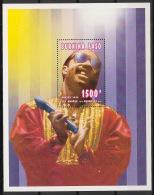 Burkina Faso - 1995 - Bloc Feuillet N°Yv. 54 - Stevie Wonder - Neuf Luxe ** / MNH / Postfrisch