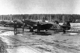 Militaria WW2  - Régiment Normandie-Niemen - Lignée De Yak 3 Du Neu-Neu En Russie - 1939-45