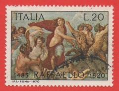 1970 (1118) Raffaello Lire 20  - Leggi Messaggio Del Venditore