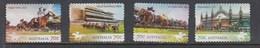 Australia 2014  Australian Horse Racecourse - Set Of 4 FU Die Cut