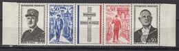 FRANCE 1971 -  SERIE Y.T. N° 1695 A 1698 - 4TP NEUFS** / FD576