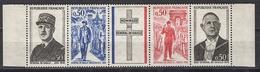 FRANCE 1971 -  SERIE Y.T. N° 1695 A 1698 - 4TP NEUFS** / FD577