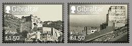 """GIBRALTAR /   EUROPA-CEPT 2017 - """" WINDSOR CASTLE"""".- SERIE De 2 V."""