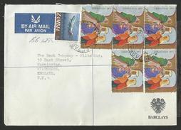 1978, ZAMBIA. BARCLAYS BANK COVER, 5900CHRISTMAS, ZAMBIA AIRWAYS, BROADWAY, NDOLA TO UK.