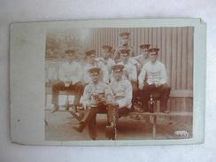 CARTE PHOTO - Etlingen Baden - Soldats Allemands - Regimenten