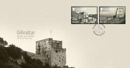 "GIBRALTAR /   EUROPA-CEPT 2017 - "" WINDSOR CASTLE"".- FDC De La SERIE De 2 V."