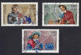 FRANCE Francia Frankreich - 1997 - Lotto 3 Valori Usati Yvert 3115, 3116, 3117