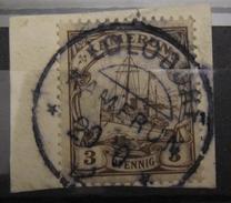 Kamerun Mi. 7 Mit Sauberem Stempel Lolodorf Auf Briefstück