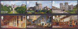 GB ~ 2017 ~ Windsor Castle/EUROPA ~ MNH - 1952-.... (Elisabetta II)