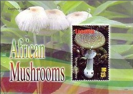 LESOTHO - Champignons - Amanita Pantherina - Coprinus Plicatilis