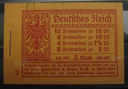 Dt. Reich MH 10.2 Original Geklammert Ohne Marken, Booklet Without Stamps, Original Value 3500,-