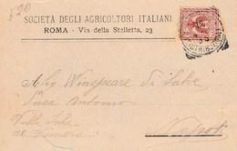 6001.   Da Società Agricoltori Italiani A Antonio Winspeare Duca Di Salve Vomero Napoli 1898