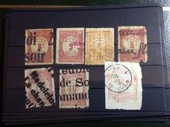 86082) Loltto Di Francobolli Del Belgio-usati