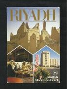 Saudi Arabia Picture Postcard Riyadh Sheraton Hotel 3 Scene View Card - Saudi Arabia