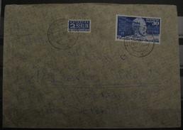 1949, BRD FRG Heinrich V. Stephan, Mi. 116, Brief Letter, Value 90,-
