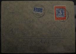 1949, 100 Jahre Dt. Briefmarken 20 Pf., Mi. 114, Brief Letter, Value 70,-