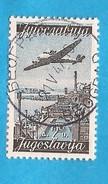 1947  517 ARCHITETTURA BOGRAD MESTROVIC  AEREO  JUGOSLAVIJA JUGOSLAWIEN  USED