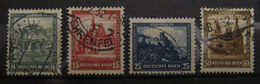 1931, Deutsche Nothilfe, Mi. 459-462, GST O Used, Value 140,-