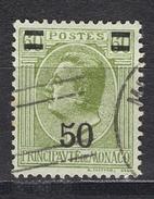 MONACO 1924 / 1933 - N° 105 - OBLITERE / FD580