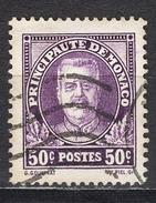 MONACO 1924 / 1933 - N° 116 - OBLITERE / FD574