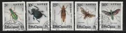 Ethiopia, Scott # 854-8 MNH Insects, 1977