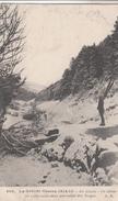 Cpa Postcard 2 Scans -  88 - ¤¤ - La Grande Guerre 1914 - 15 - En Alsace Un Skieur En Exploration Dans Vallée Des Vosges