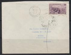 S885 .-. ALGERIA - COVER SETIF 1-4-1957 TO BOGOTA -COLOMBIA 15-5-57