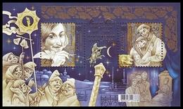 "UKRAINE 2009. NOVEL ""CHRISTMAS EVE"" By NIKOLAY GOGOL. Mi-Nr. 1030-31 Block 74. MNH (**)"