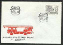 Portugal Cachet Commémoratif Sapeurs-Pompiers Estoril 1978 Event Postmark Firefighters