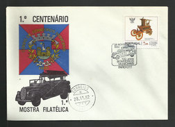 Portugal Cachet Commémoratif Sapeurs-Pompiers Faro Algarve 1982 Event Postmark Firefighters