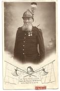 CPA 1904, Le Père Phélizon Doyen Des Pompiers De Nanterre Et Du Département De La Seine - Feuerwehr