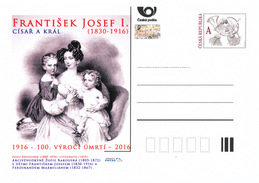 Czech Rep. / Postal Stat. (Pre2016/33) Year Of The Emperor And King Francis Joseph I. (1830-1916) - Childhood