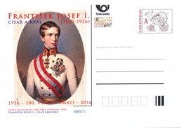 Czech Rep. / Postal Stat. (Pre2016/34) Year Of The Emperor And King Francis Joseph I. (1830-1916) - Young Emperor