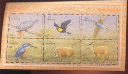 MINT NEVER HINGED MINI SHEET OF WILDLIFE & ANIMALS  ; BIRDS  ( GAMBIA   2492 - Zonder Classificatie