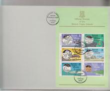 O) 1985 BRITISH VIRGIN ISLANDS, COINAGE- FISH, ISSUE, XF - British Virgin Islands