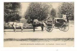 BOUCHES-DU-RHÔNE / MARSEILLE / GRANDE  QUINZAINE  MARSEILLAISE / LA  CAVALCADE / CAROSSE  LOUIS  XV  ( Attelage ) - Old Professions