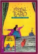 FESTIVAL DE TEATRO THEATRE THEATER MADEIRA ISLAND PORTUGAL CARTE MAXIMUM - MAXICARD (2 SCANS)