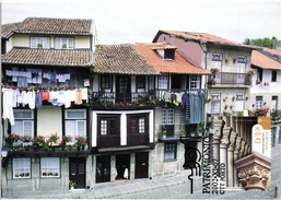 GUIMARAES TYPICAL HOUSES PORTUGAL CARTE MAXIMUM - MAXICARD (2 SCANS)