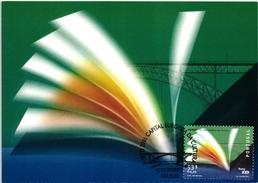 PORTO EUROPE CULTURE & SCIENCE CAPITAL BRIDGE PORTUGAL CARTE MAXIMUM - MAXICARD (2 SCANS)