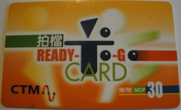 Macau - Mac-CTM-Pre-032, GSM Refill, Ready To Go Card, Exp.30/6/2000, Used - Macau