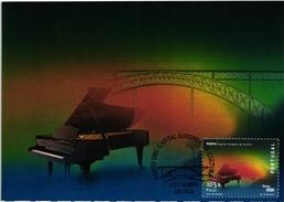 PORTO EUROPE CULTURE CAPITAL BRIDGE PIANO PORTUGAL CARTE MAXIMUM - MAXICARD (2 SCANS)