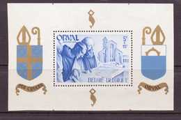 BELGIQUE 1941 ORVAL  YVERT N°B11  NEUF MNH** - Blocks & Kleinbögen 1924-1960