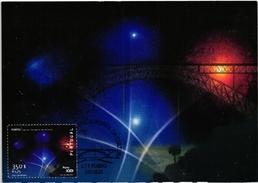 PORTO EUROPE CULTURE CAPITAL BRIDGE FIREWORKS FEUX D'ARTIFICE PORTUGAL CARTE MAXIMUM - MAXICARD (2 SCANS)