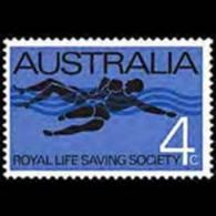 AUSTRALIA 1966 - Scott# 421 Life Saving Soc. Set Of 1 MNH