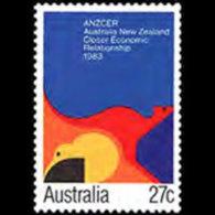 AUSTRALIA 1983 - Scott# 863 ANZCER Agreement Set Of 1 MNH
