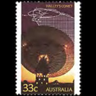 AUSTRALIA 1986 - Scott# 982 Halley Comet Set Of 1 MNH