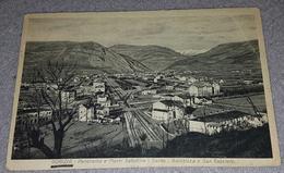 GORIZIA 1935.- PANORAMA E MONTI SABOTINO- SANTO- BAINSIZZA E SAN GABRIELE - Gorizia