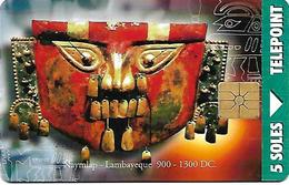 @+ TC Du Perou - 15a Emision - Lambayeque Mask - Gem1A - Ref : PER-TE-083A - Pérou