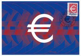 FRANCE => 2 Cartes Maximum => 0,46 E Timbre Euro -  Carnet Euro